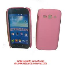 Pellicola+custodia BACK COVER RIGIDA ROSA per Samsung Galaxy Ace 3 S7270 S7272