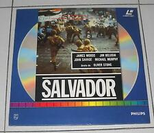 Laser Disc SALVADOR di Oliver Stone NUOVO ITA LD Laserdisc James Woods