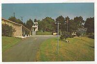 Mountain View Motel, BALDWIN GA - Vintage Georgia Chrome Postcard