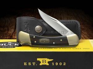Buck 110 Folding Hunter Knife Diamond Wood 50th Anniversary 50-BRS-B