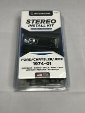 Scosche Stereo Install Kit for Ford/Chrysler/Jeep 1974-01 Fcj2076 Free Shipping