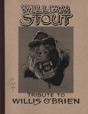 NEW LISTINGSIGNED William Stout Willis OBrien Tribute Art Sketch Book King Kong Dinosaurs