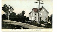 Rock Hill Ny - Post Office - Postcard Sullivan County Catskills