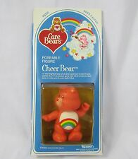 Vintage 1983 Care Bears CHEER BEAR #60330 Poseable Figure NEW SEALED Kenner