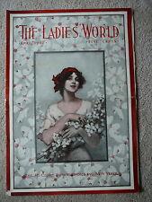THE LADIES WORLD MAGAZINE - APRIL 1912 - GOLD DUST - SUNNY MONDAY & FAIRY SOAPS