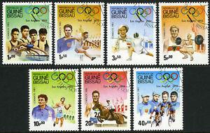 Guinea-Bissau 489-495, CTO. Olympics, Los Angeles, 1983
