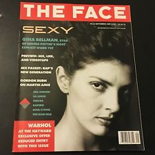 VINTAGE ART/FASHION MAGAZINE THE FACE # 12 SEPTEMBER 1989 ANDY WARHOL INSERT