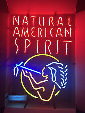 NEW Natural American Spirit Cigarette Tobacco Neon Light Sign