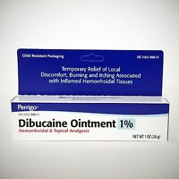 DIBUCAINE 1% Ointment (compare to Nupercainal) by Perrigo - 1oz