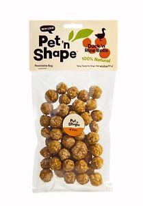 Pet 'n Shape Duck 'n Rice Balls Natural Dog Treats, 3.5-Ounce
