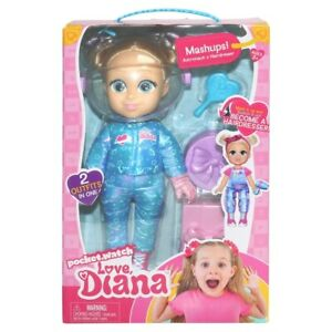 Love Diana Doll Mashups Astronaut & Hairdresser Outfit Set New Kids Toy Age 3+