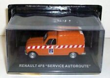 Voitures, camions et fourgons miniatures orange Altaya 1:43