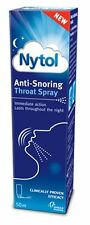 NEW Nytol Anti - Snoring Throat Spray Easy to Use 50ml - FAST & FREE DELIVERY