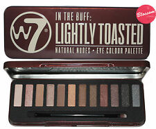 W7 Eye Colour Palette in The Buff Lightly Toasted