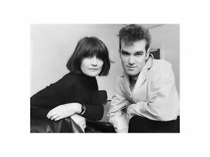 Morrissey - With Singer with Sandie Shaw 1980s Print 60x80cm