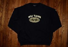 1997 WU-TANG FOREVER Loud records promo sweat shirt vtg 90s rap hip hop sweater
