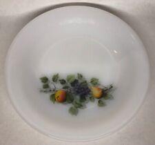 Lot102 Desde 6 Platos Hueca Vintage Arcopal Francia De 21,5Cm Decoración Frutal