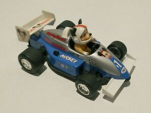 Vintage 1988 Walt Disney Mickey Mouse M-1 Champ 1928 Race Car Japan Toy Masudaya