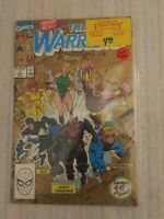 THE NEW WARRIORS #1 (1991 MARVEL COMICS) GOLD COVER 2ND PRINTING NM