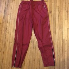 Vintage Men's  Tommy Hilfiger Outdoors Windbreaker Pants Color Block Red Size L