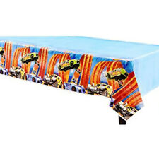 Party Supplies Birthday V8 Boys Cars Sport Hot Wheels  Tablecover