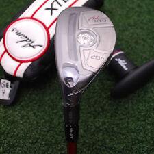 Adams Golf Club XTD Ti 20º Hybrid - LEFT HAND Matrix Red Tie Senior Flex NEW