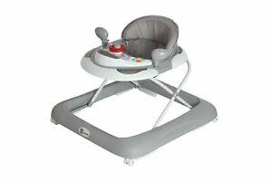 Lauflernhilfe Gehfrei Laufhilfe Baby Walker Gehhilfe Kinder Grau B-Ware Nr.80