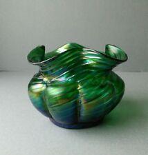 Loetz Kralik Bohemian Iridescent Glass Vase