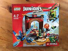 Lego Juniors Ninjago 10725 The Lost Temple BNIB (2016)