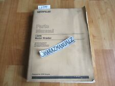 1992 Caterpillar 140g Motor Grader 3306 Engine Parts Book Manual