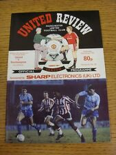 23/01/1991 Manchester United v Southampton [Football League Cup Replay] (Token R