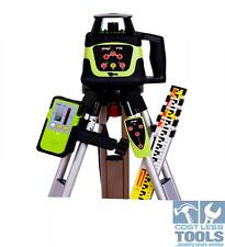 Imex 77RS Construction Grade Laser Level INCLUDES Tripod and Staff