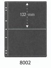 PRINZ PRO-FIL 2 STRIP BLACK STAMP ALBUM STOCK SHEETS Pack of 5 Ref No: 8002