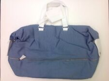 LIGHT BLUE Dolce   Gabbana D G Male Blue Travel Weekender Duffle Gym Bag New 0327a4fed2016