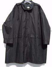 "Eskandar BLACK Light Weight Cotton PU Hooded 37"" Long Rain Coat (0) $1190"