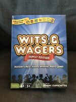 North Star Games Wits & Wagers Family Edition - Kid Friendly Party Game