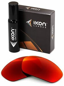 Polarized IKON Replacement Lenses For Costa Del Mar Man O War - Red