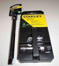 "STANLEY 1/2"" Drive Universal Joint & Adapter 1/2"" to 3/8"" 2 Pcs Set plus 6"" EXT"