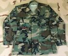 USAF Air Force Camo BDU Shirt 7th Bomb Wing, Master Airfield Systems, Master Sgt