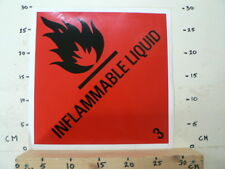 STICKER,DECAL INFLAMMABLE LIQUID BIG SIZE NO 3