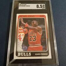 1988 Fleer Michael Jordan Chicago Bulls #17 SGC 8.5