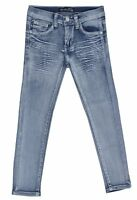 Girl's Stretch Fashion 5 Pockets Washed Premium Designed Skinny jeans