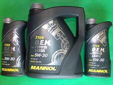6 L MANNOL Toyota Lexus OEM o.e.m.5w-30 API SN/CF huiles de vidange 5w30 ACEA a5/b5 a3/b4