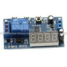 DC 12v LED Display Digitale ritardo timer interruttore modulo PLC Automazione
