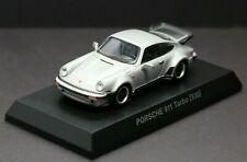 Kyosho 1/64 Porsche Collection 6 Porsche 911 Turbo 930 1979 Silver