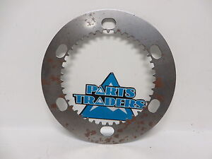 NOS Custom Chrome Steel Clutch Plate Harley Davidson XLCH XLH Sportster XR1000