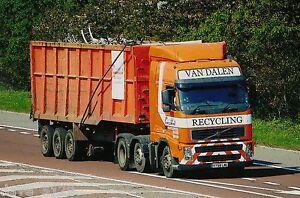 Truck Photo: VAN DALEN METALS RECYCLING - VOLVO - Hartlepool - KY58 LWE