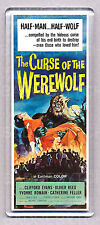THE CURSE OF THE WEREWOLF movie poster 'WIDE' FRIDGE MAGNET -  HORROR CLASSIC!