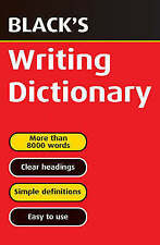 Black's Writing Dictionary by J.A. Hulme, T.F. Carmody, T.J. Hulme (Paperback, 2002)