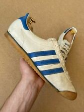 Adidas Rom Vintage 80s Trainers Shoes Retro Rare Men's Size UK 10.5 US 11...